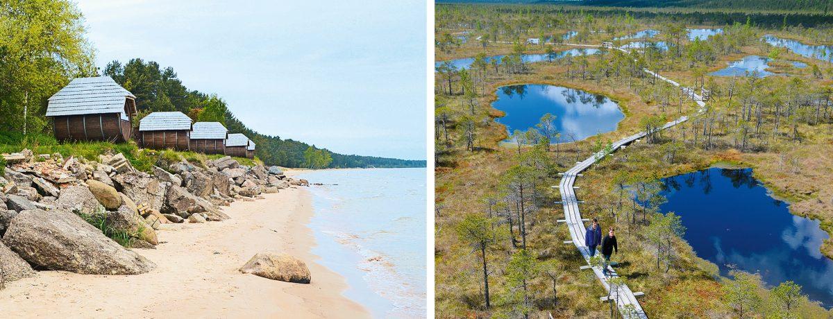 Camping Melnsilns Lettland