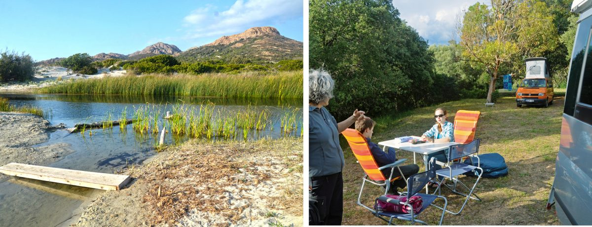 Camping Ostriconi Korsika