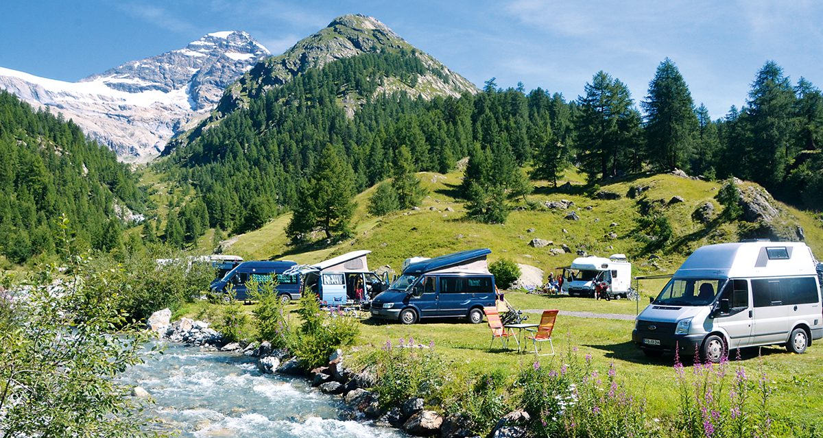 Naturzeit Special Places: Camping Fafleralp