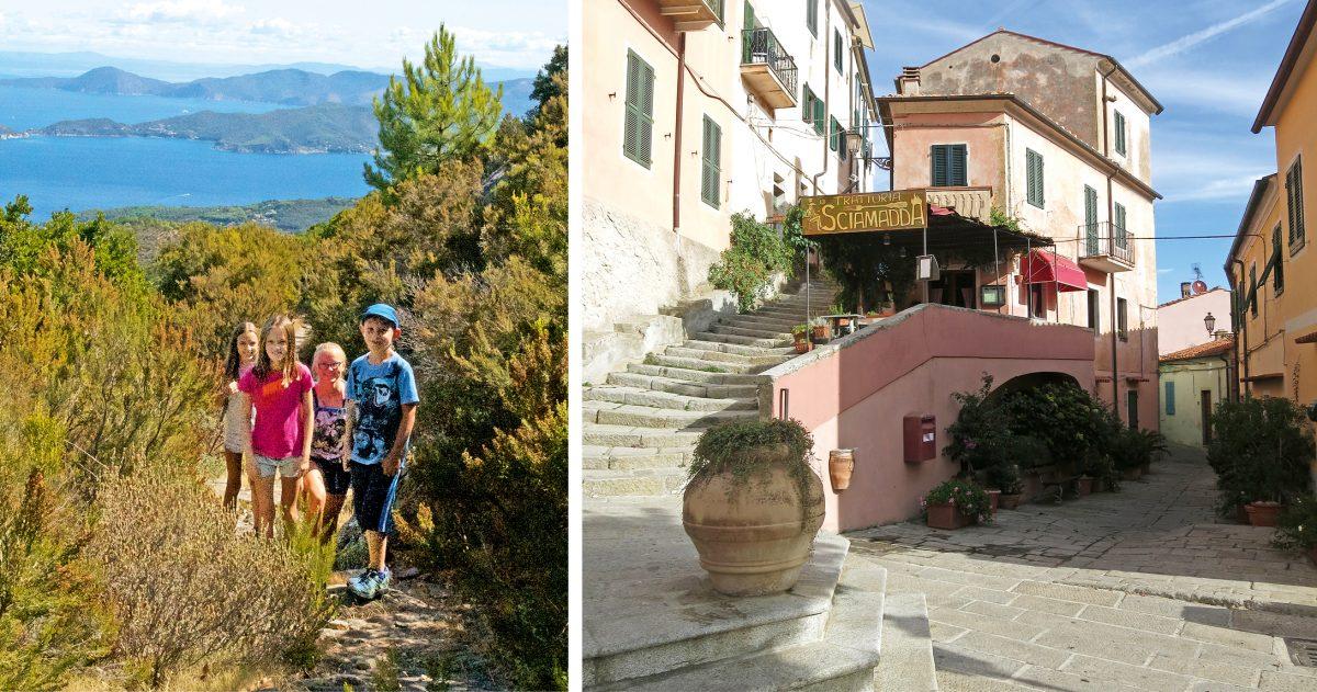 Wandern mit Kindern auf Elba