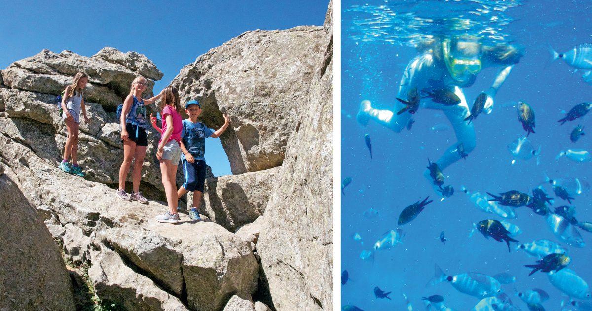 Schnorcheln und Wandern auf Elba