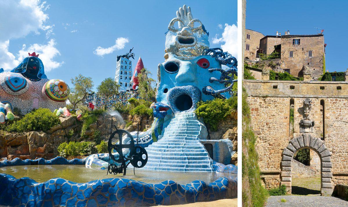 Tarotgarten, Giardino di Tarocchi, Niki de Saint Phalle