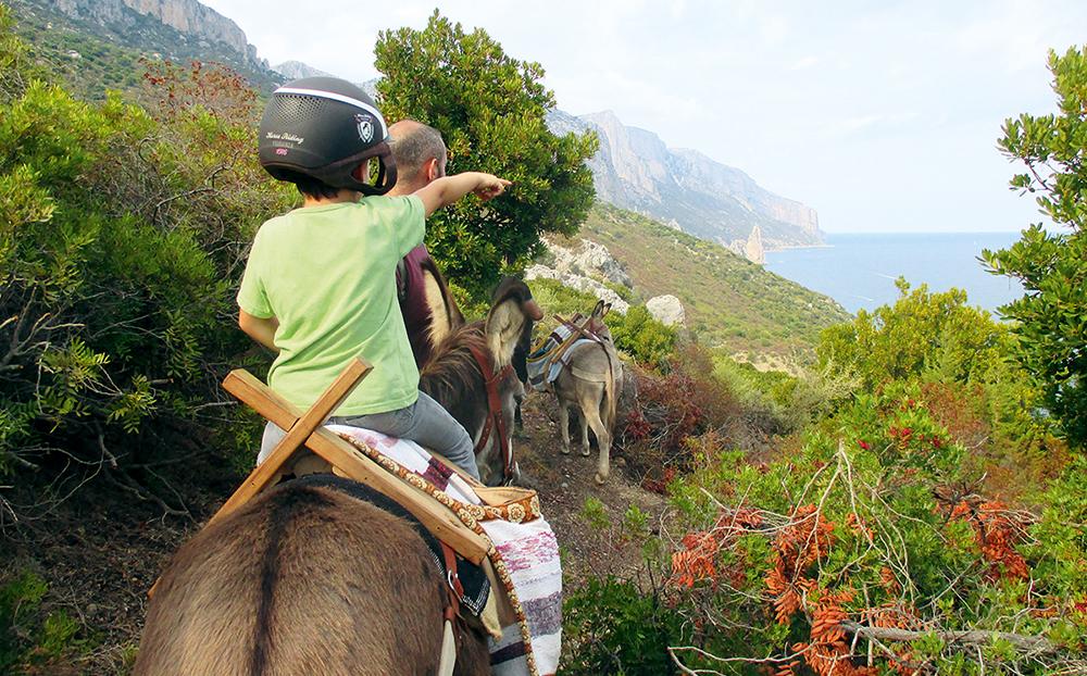Eselwandern in der Ogliastra, Tour 43 – Sardinien mit Kindern