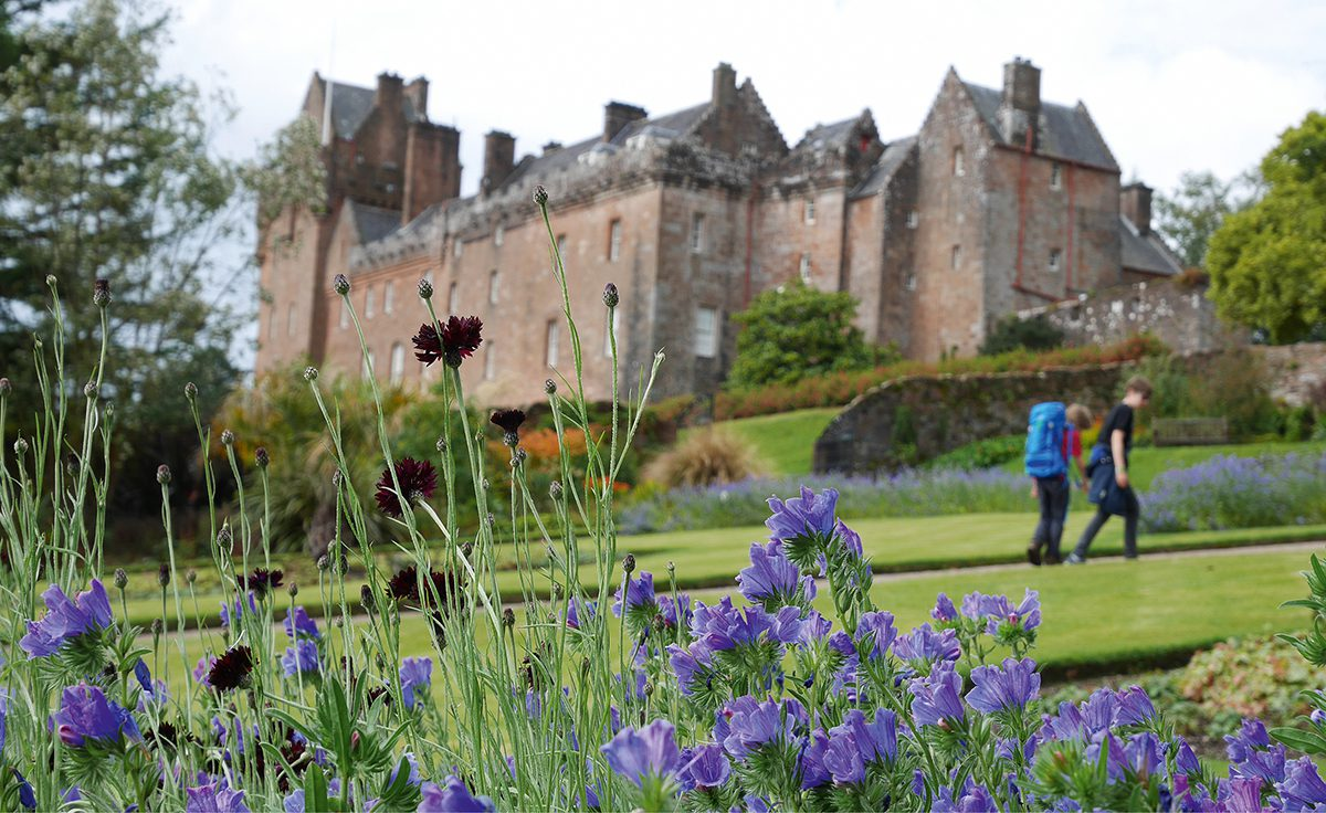 Am Brodick Castle