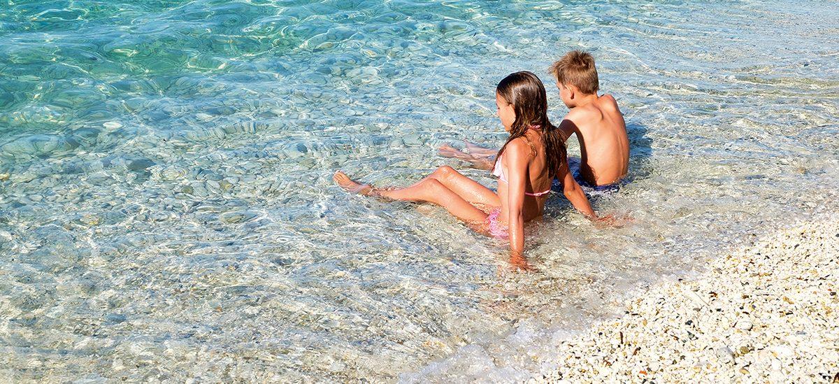 Badespaß auf Elba
