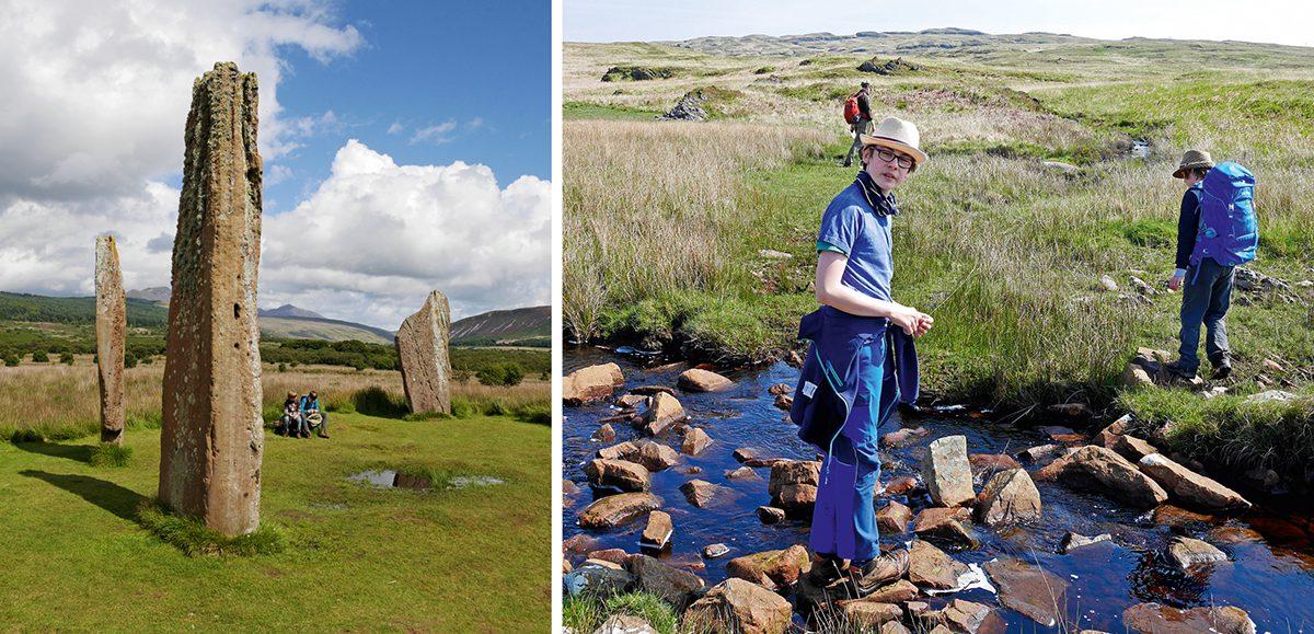 Schottlands Inseln mit Kindern entdecken