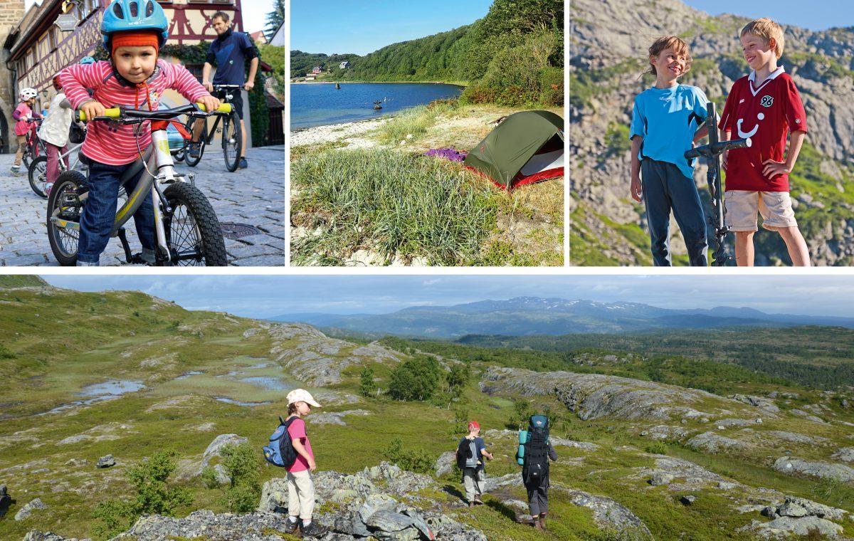25 Trekkingtouren für Familien