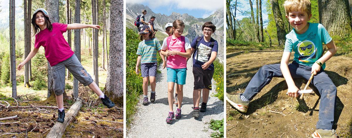 Kinder-Abenteuer in der Natur
